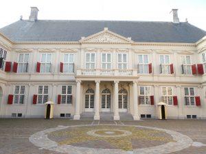 Het paleis van de koning der Nederlanden